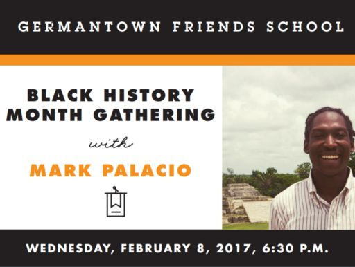 Black History Month Gathering with Mark Palacio