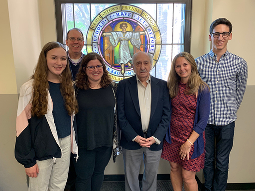 David Tuck, Holocaust Survivor, Speaks to Students