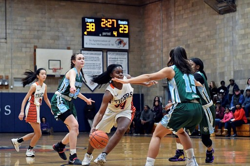 Girls Varsity Basketball Triumphs Over Shipley