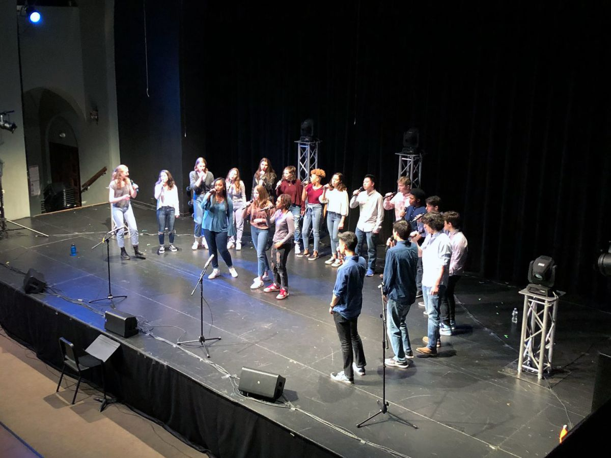 Fundraising Through Song: GFS A Cappella's WeHarmonizeU Project